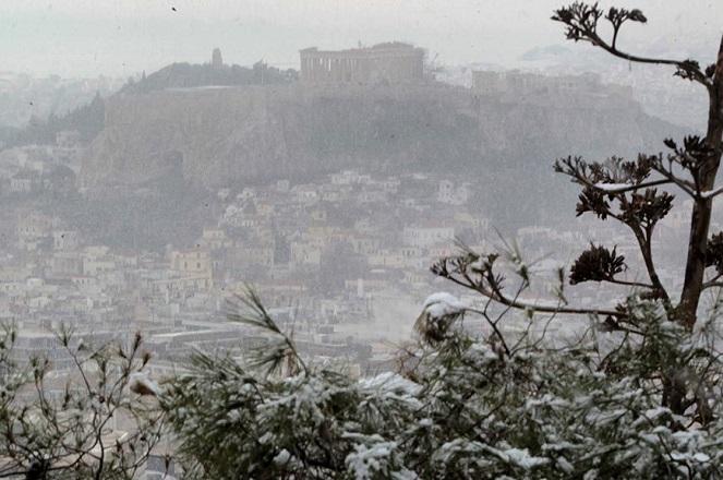 Η «Πηνελόπη» φέρνει χιόνια και στην Αττική