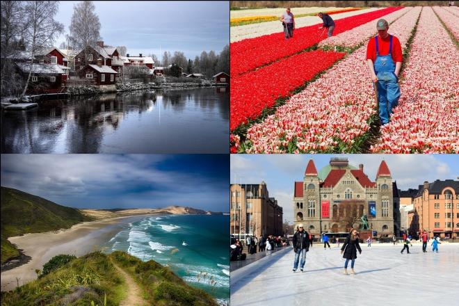 Οι πιο πλούσιες, υγιείς, χαρούμενες και ευημερούσες χώρες του κόσμου
