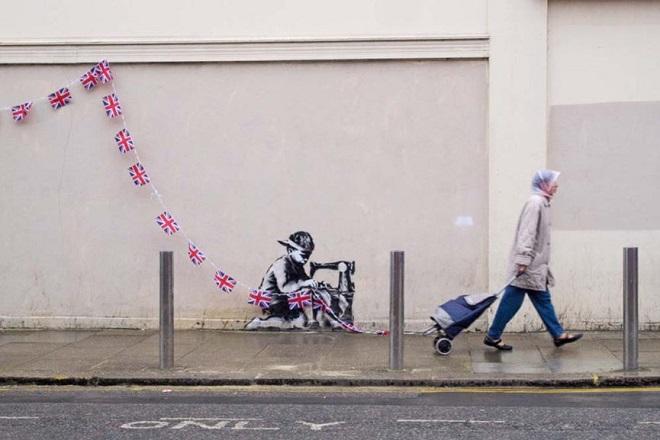 Αμερικανός καλλιτέχνης απειλεί να ασβεστώσει ένα έργο του Banksy που αγόρασε