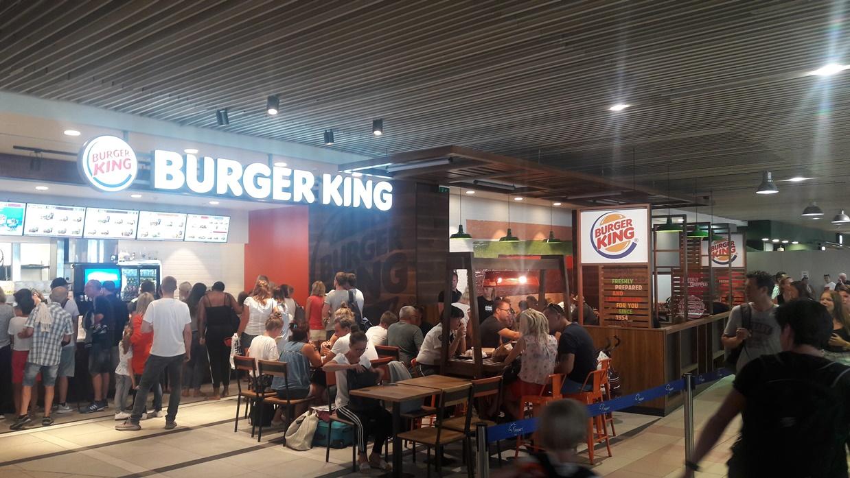 Burger King στη Ρόδο.