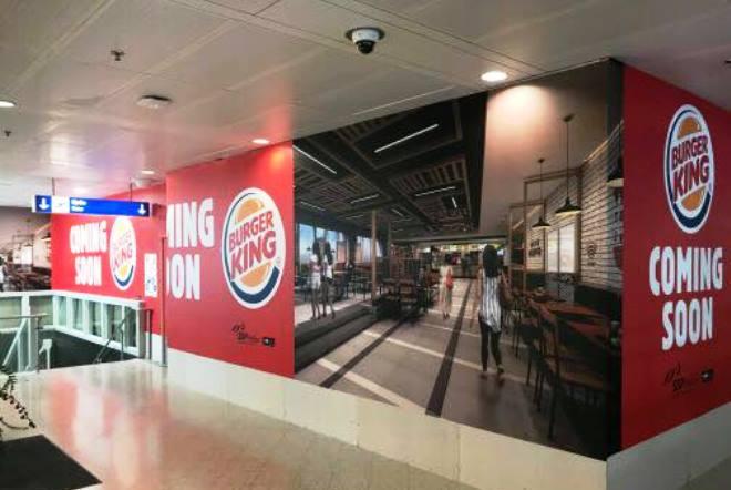 Aνοίγει και δεύτερο κατάστημα Burger King στο «Ελ. Βενιζέλος» στην Αθήνα