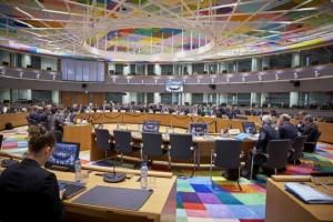 Óõíåäñßáóç ôïõ Eurogroup ôçí ÄåõôÝñá 4 Äåêåìâñßïõ 2017, óôéò ÂñõîÝëëåò. (EUROKINISSI/ÅÕÑÙÐÁÚÊÇ ÅÍÙÓÇ)