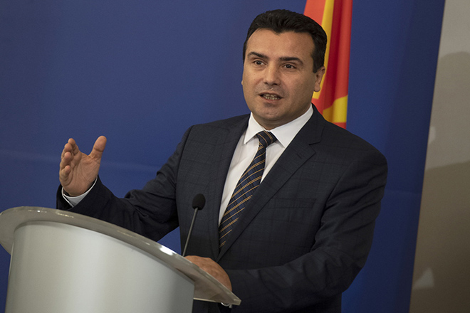 Ζάεφ: Ελπίζω η Συμφωνία των Πρεσπών να κυρωθεί και από την ελληνική Βουλή
