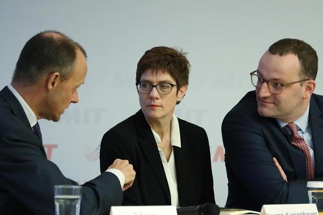 Το προφίλ των τριών «μνηστήρων» για την ηγεσία του CDU