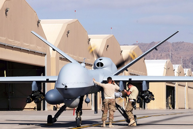 artificial intelligence weapons google reaper drone