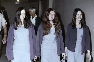 Members of the Manson Family. Uncredited AP