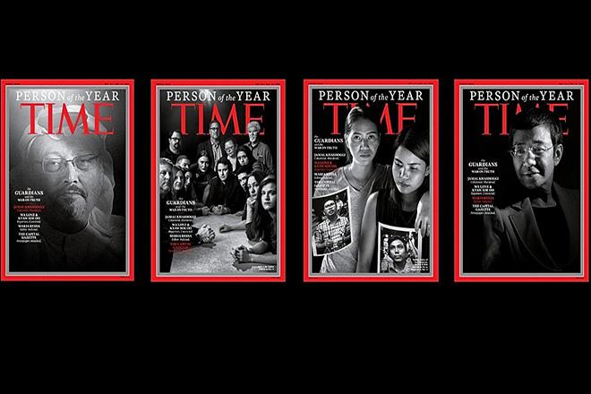 TIME: Στον Τζαμάλ Κασόγκι και άλλους δημοσιογράφους ο τίτλος «Person of the Year» για το 2018