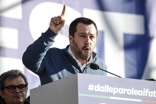 Υπό το εισαγγελικό πρίσμα η ιταλική Λέγκα του Σαλβίνι – Ερευνάται για χρηματοδότηση από τη Ρωσία