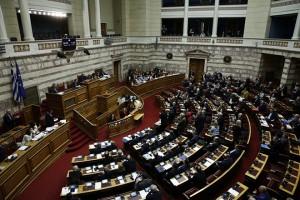 Ο πρωθυπουργός Αλέξης Τσίπρας μιλάει στην Ολομέλεια της Βουλής στη συζήτηση και ψήφιση επί της αρχής, των άρθρων και του συνόλου του σχεδίου νόμου του Υπουργείου Εργασίας, Κοινωνικής Ασφάλισης και Κοινωνικής Αλληλεγγύης και του Υπουργείου Οικονομικών «Κατάργηση των διατάξεων περί μείωσης των συντάξεων και άλλες διατάξεις», Τρίτη 11 Δεκεμβρίου 2018. ΑΠΕ-ΜΠΕ/ΑΠΕ-ΜΠΕ/ΑΛΕΞΑΝΔΡΟΣ ΒΛΑΧΟΣ