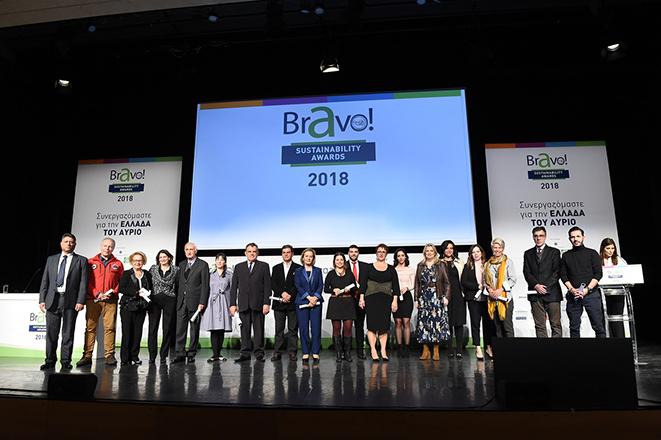 Θεσμός BRAVO: Οι πρεσβευτές της βιώσιμης ανάπτυξης στο προσκήνιο