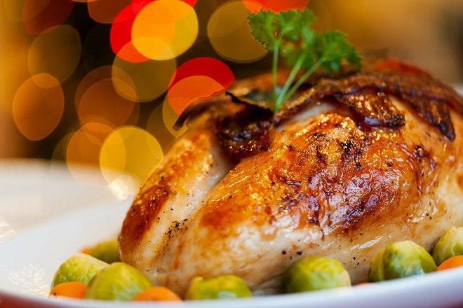 christmas table turkey χριστουγεννιατικο τραπεζι χριστουγεννα γαλοπουλα