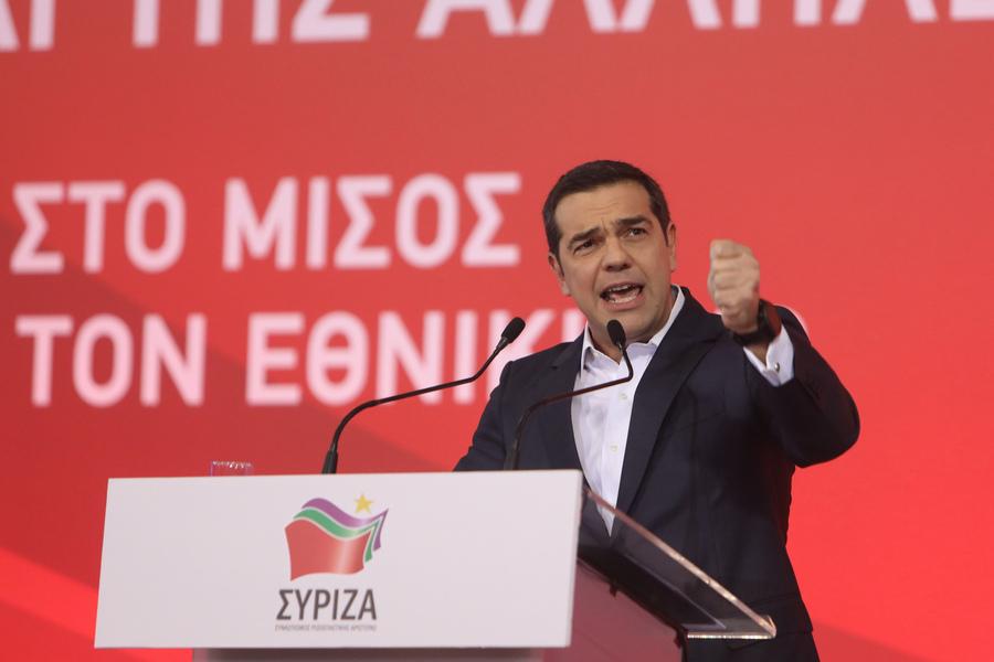 Τσίπρας από Θεσσαλονίκη: Η Αριστερά δεν πουλάει την Μακεδονία, την σώζει
