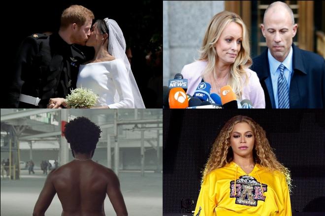 Οι celebrities που «έσπασαν» το ίντερνετ το 2018