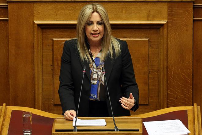Γεννηματά: «Η κυβέρνηση είναι βαρίδι, έχει τελειώσει στη συνείδηση των πολιτών»