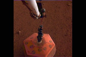 nasa mars insight seismografos