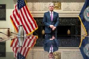 O πρόεδρος της κεντρικής τράπεζας των ΗΠΑ, Τζερόμ Πάουελ.