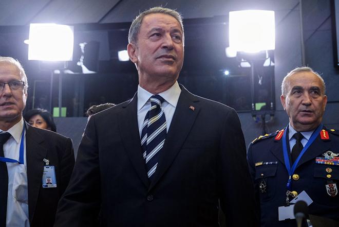 Με νέο 1974 απειλεί ο Τούρκος υπουργός Άμυνας