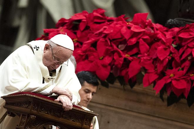 Χριστουγεννιάτικο μήνυμα υπέρ των φτωχών από τον Πάπα Φραγκίσκο