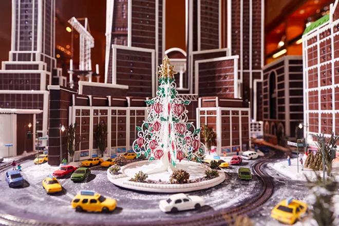 Χριστούγεννα στην «μπισκοτένια» Νέα Υόρκη
