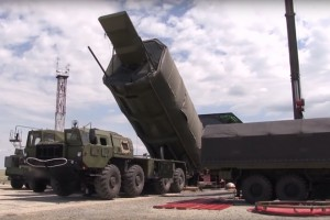 epa07248962 (FILE) - A handout still image from a video footage made available 19 July 2018 by the Russian Defense Ministry on its official Youtube page shows Russian Avangard hypersonic strategic missile system equipped with a gliding hypersonic maneuvering warhead preparing for blasting off in Russian territory (reissued 26 December 2018). Reports 26 December 2018 state Russian President Vladimir Putin has overseen from a remote location the succesful test of the hypersonic complex Avangard in Russia's far east region.  EPA/RUSSIAN DEFENCE MINISTRY PRESS SERVICE / HANDOUT  HANDOUT EDITORIAL USE ONLY/NO SALES