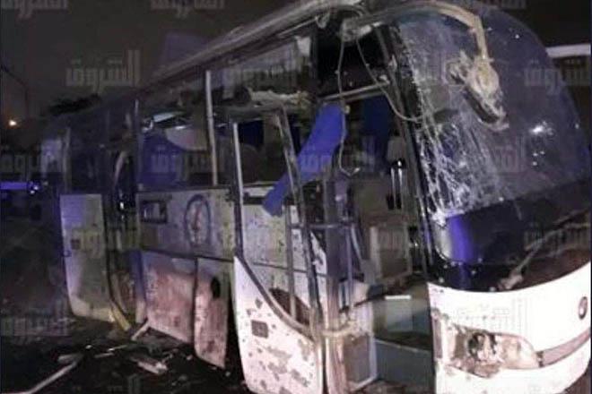 Έκρηξη σε τουριστικό λεωφορείο στο Κάιρο – Τρεις νεκροί τουρίστες και αρκετοί τραυματίες