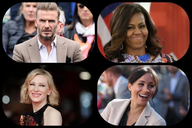 Από τη Μέγκαν Μαρκλ στη Μισέλ Ομπάμα: 10 διασημότητες που χρησιμοποίησαν τη λάμψη τους για καλό σκοπό το 2018