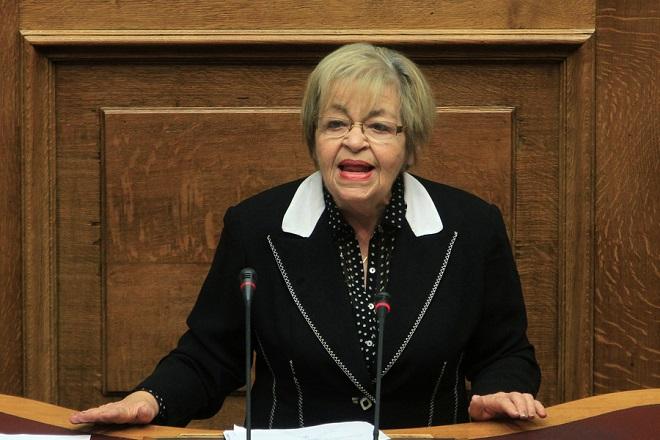 Πέθανε η πρώην βουλευτής και εισαγγελέας Χρυσούλα Γιαταγάνα