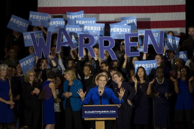 Θα είναι η Ελίζαμπεθ Ουόρεν η υποψήφια των Δημοκρατικών στις επόμενες αμερικανικές εκλογές;