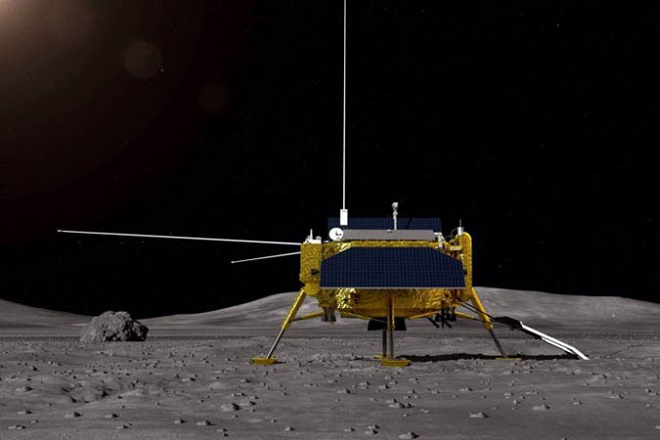 ΑΠΕ Chang'e-4 china dark side of the moon space 2