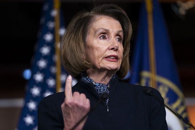 Η Νάνσι Πελόζι πρόεδρος της Βουλής των Αντιπροσώπων- «Δεν έχουμε αυταπάτες, η δουλειά μας δεν θα είναι εύκολη»