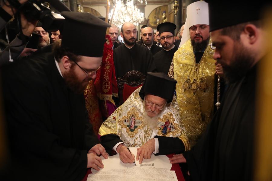 Ολοκληρώθηκε και τυπικά ο διαχωρισμός της Εκκλησίας της Ουκρανίας από τη Μόσχα