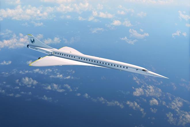 100 εκατ. δολάρια για τη startup που θέλει να φτιάξει το πρώτο εμπορικό υπερηχητικό αεροσκάφος