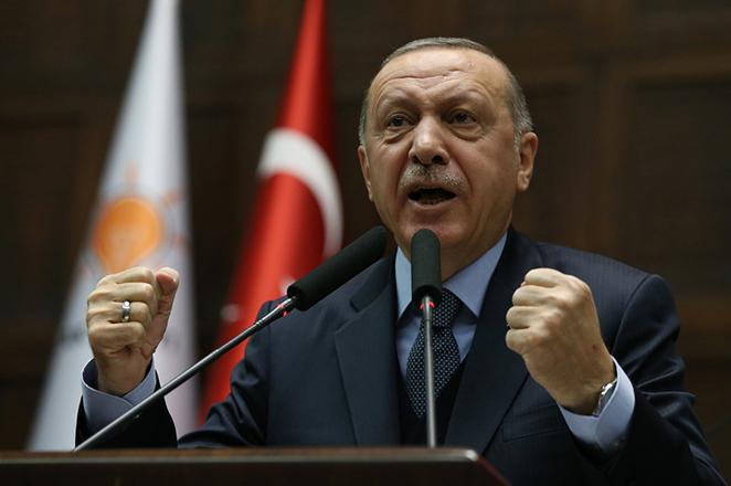«Έκρηξη» Ερντογάν κατά των ΗΠΑ για τους Κούρδους στη Συρία