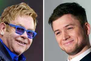 epa06681995 (FILE) - A twofold combo picture shows British singer Elton John (L) smiling during the Vieilles Charrues Festival in Carhaix, France, 18 July 2014 and British actor Taron Egerton (R) at the world premiere of the film 'Kingsman: The Secret Service' in London, Britain, 14 January 2015. According to media reports on 20 April 2018, Taron Egerton will play Elton John in the film 'Rocketman', an upcoming musical biopic.  EPA/HUGO MARIE / HANNAH MCKAY TWOFOLD COMPOSITE PHOTO *** Local Caption *** 53396985