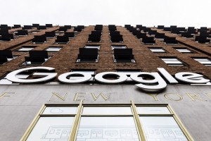 epa07237660 A view of Google's offices in New York, New York, USA, 17 December 2018. The company announced plans to expand in New York by buying additional properties and building a one billion US dollars campus in the West Village neighborhood, adding an expected 7,000 jobs.  EPA/JUSTIN LANE