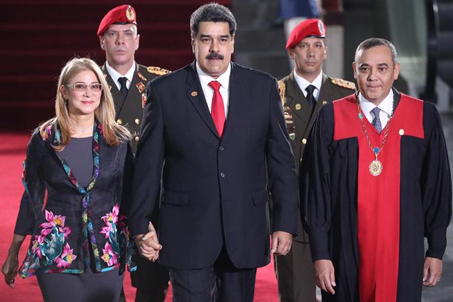 Ξεκίνησε επίσημα η δεύτερη θητεία του Νικολάς Μαδούρο – Για «δικτατορία» κάνουν λόγο οι ΗΠΑ