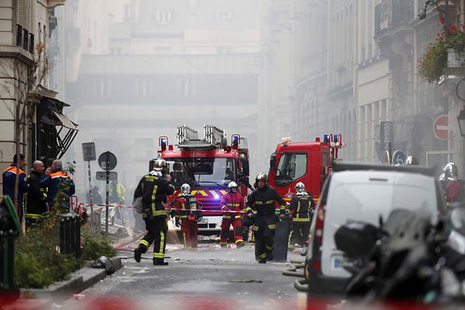 Ισχυρή έκρηξη με δεκάδες τραυματίες στο Παρίσι