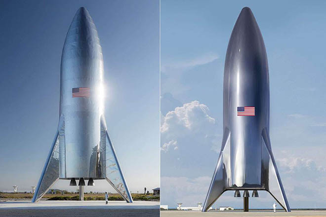 SpaceX+Starship+Πηγή+Elon+Musk-SpaceX