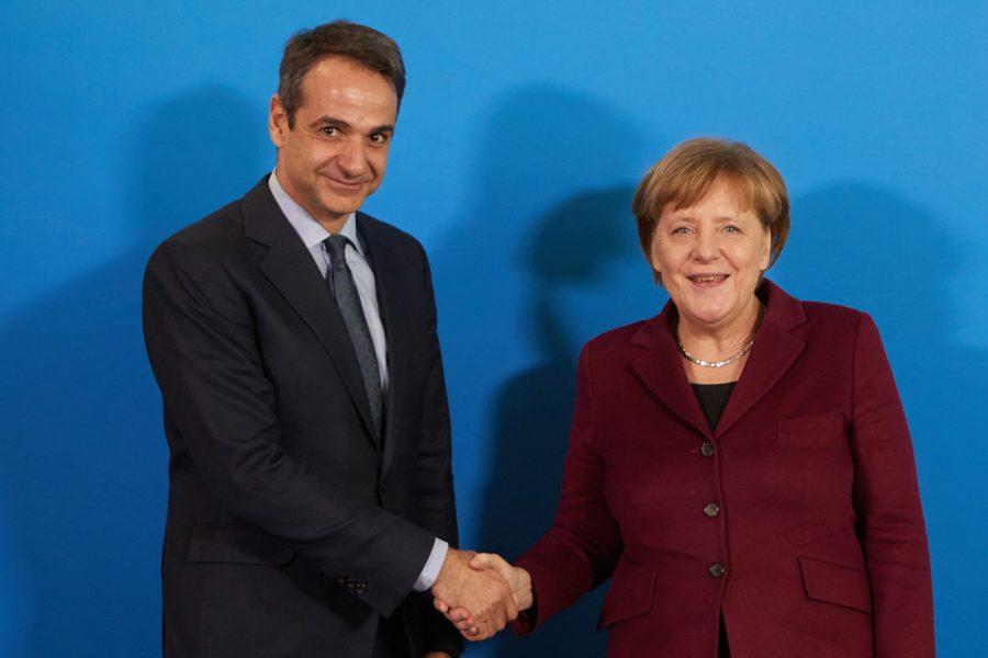 Συνάντηση Μητσοτάκη- Μέρκελ: Τα «όπλα» και οι στόχοι του πρωθυπουργού