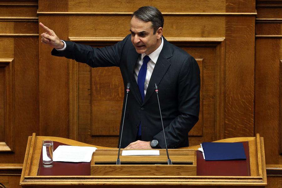 Μητσοτάκης: Οι ΣΥΡΙΖΑΝΕΛ δεν χώρισαν, απλά συγχωνεύτηκαν