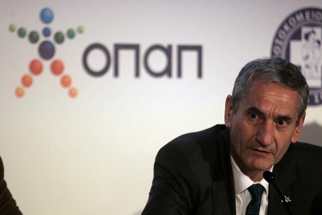 Παραμένει πρόεδρος του ΟΠΑΠ έως τις 31 Δεκεμβρίου ο Ziegler