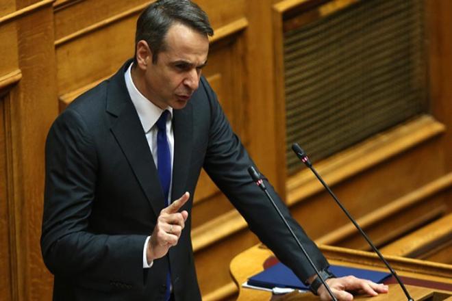 Μητσοτάκης: «Θα είναι η βραδιά της ψήφου εμπιστοσύνης σε μία κυβέρνηση κουρελού»