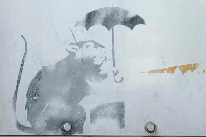 Ένας Banksy στο Τόκιο;