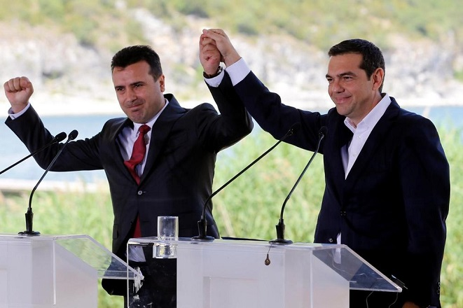 Ζάεφ: Δέχθηκα το «Βόρεια Μακεδονία» γιατί πήρα «μακεδονική ταυτότητα»