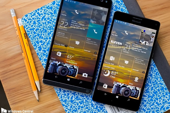 hp-elite-x3-lumia-950xl windows 10 mobile