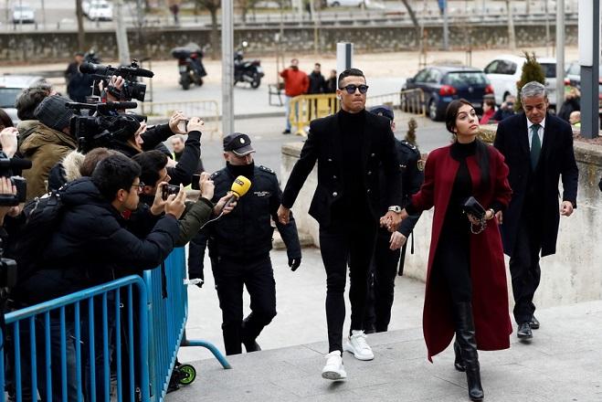 Cristiano Ronaldo accused of tax fraud