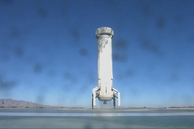 Επιτυχής η δέκατη δοκιμαστική πτήση του πυραύλου της Blue Origin