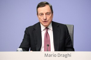 epa07315485 Mario Draghi, the President of the European Central Bank (ECB), speaks during a press conference following the meeting of the Governing Council of the European Central Bank in Frankfurt Main, Germany, 24 January  2019. ECB plans to keep rates unchanged at least through the summer of 2019.  EPA/ARMANDO BABANI