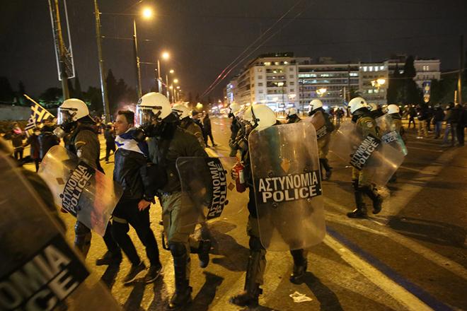 Κάλεσμα σε νέα συγκέντρωση διαμαρτυρίας κατά της Συμφωνίας των Πρεσπών το μεσημέρι της Παρασκευής