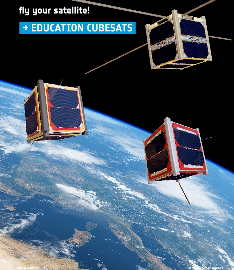 ASAT.+Fly+Your+Satellite+ESA+poster